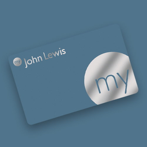 my John Lewis membership card