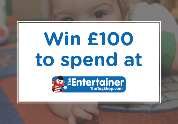 win £100 to spend at The Entertainer!