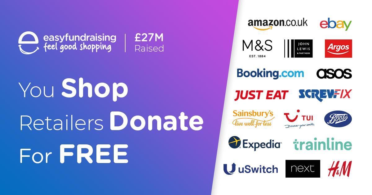 e177bc67c Fundraising | Charity Fundraising Online | Easyfundraising