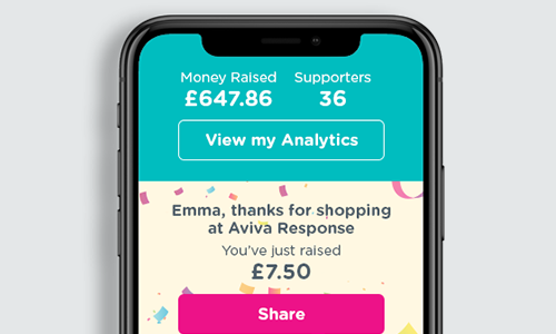 Receive notifications when you've raised a donation or been paid!