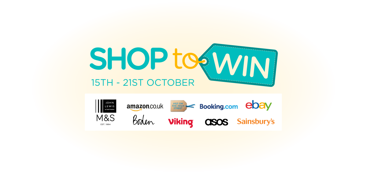 Shop To Win | easyfundraising