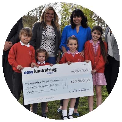 Raising money for charities