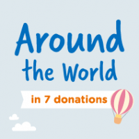 Introducing Around the World in 7 Donations