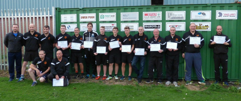 Coaches of Blaydon Youth FC