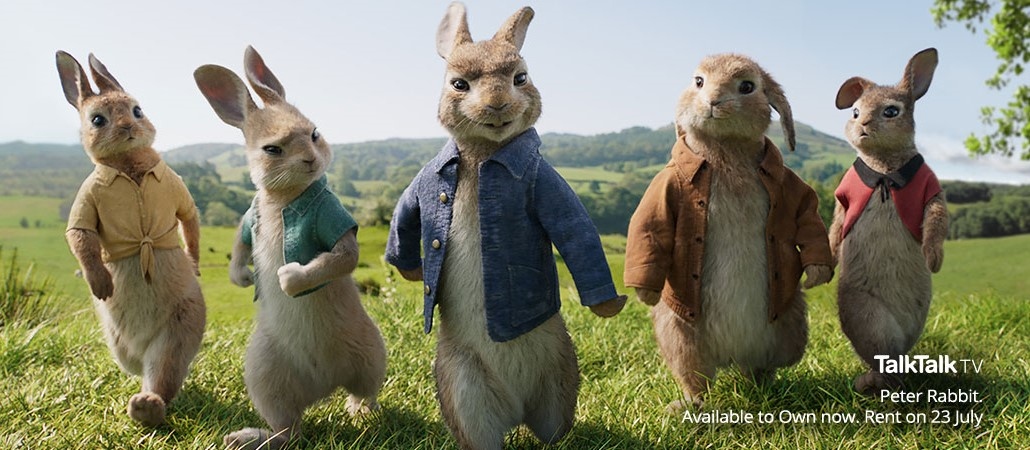 TalkTalk Peter Rabbit