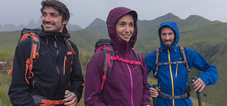 hikers with rucksacks