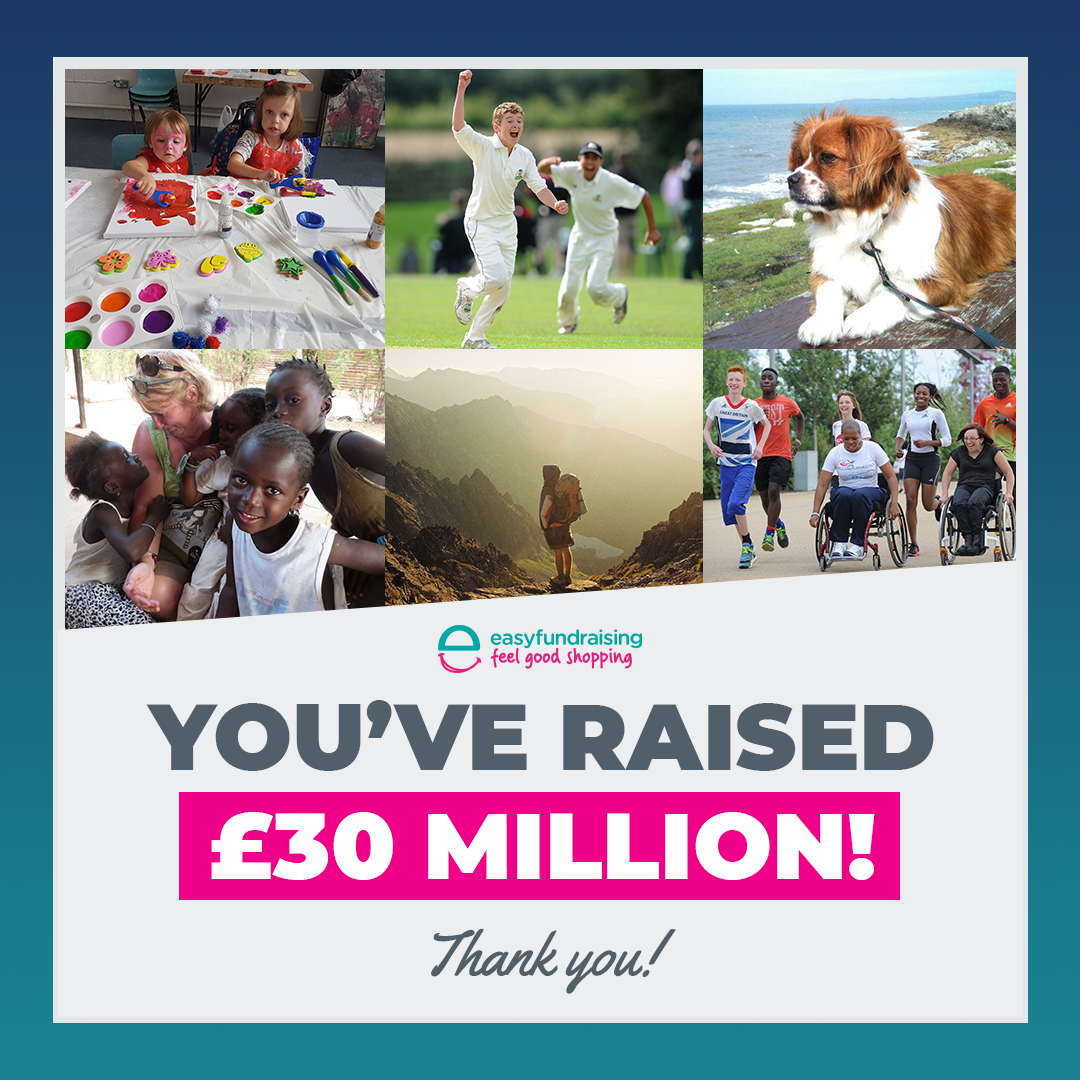 You've raised £30 million